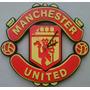 Reloj Dpared Manchester United En Madera, Realiz Cualq Diseñ