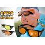Gafas De Sol Y Noche Lentes Hd Mejora Vision 2x1 + Obsequio