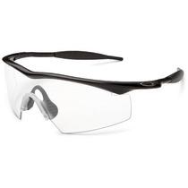 Gafas Oakley De Sol Marco M Marco Negro Mate / Lente Clara