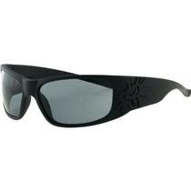 Gafas Negro Flys De Sonic Fly Lens 2 Humo Wrap Sunglasses,