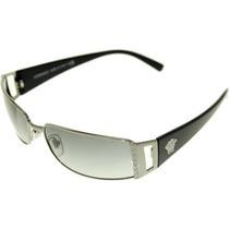 Gafas Versace Men Gunmetal / Gris Gafas De Sol 60mm