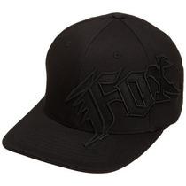 Gorra Fox Hombres De Nueva Generación Flexfit Hat Negro, La