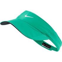Gorra Nike De La Mujer Atómica Verde Tenis Dri-fit Visera A
