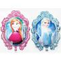 Globo Bomba Metalizado Frozen Ana Y Elsa Doblefaz Olaf
