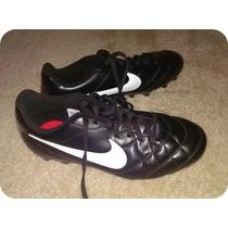 Guayos Nike Cuero Futbol Talla 7.5 Us