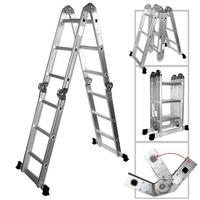 Escalera Portatil De Aluminio /multiproposito