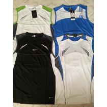 Camisillas Adidas Climacool Y Nike Dri Fit