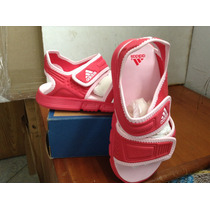 Sandalias De Niñas Marca Adidas Talla Usa 9 Miden 16 Cms