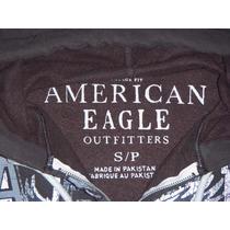 Hoddie Capota American Eagle Cafe Talla S, ,solo $ 79.990