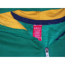 Hoddie Capota Izod Verde Talla S, ,solo $ 69.990