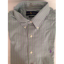 Camisa Polo Ralph Lauren Manga Larga 16 100% Original