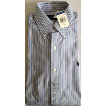 Camisa Polo Ralph Lauren Manga Larga 100% Original 14 1/2
