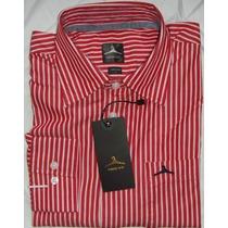 Manga Larga Camisas Unicolor Rallas Hanger Importadas