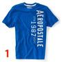 Aeropostale - Camisa Cuello Redondo M- L