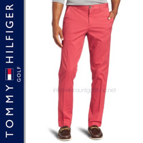 Pantalones Tommy Hilfiger Slim Fit Hombre 100% Originales