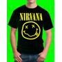 Camisetas Hombe Y Niños Algodón Diseño : Nirvana Nevermind