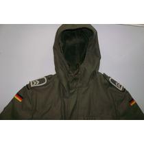 Chaqueta Militar Alemana Bundesweh Army Parka Jacket Talla L