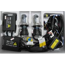 Luces Hid Xenon H4 Altas Y Bajas Motorizadas Kit Completo