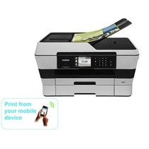 Impresora Multifuncional 4-1 Scanner Fax Fotocopiadora Wifi