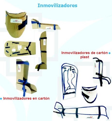 Inmovilizadores Para Accidentes Cuello Pierna Brazo Tobillo