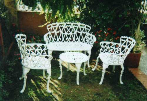Juego De Sala Para Exterior Jardin Terraza - $ 855.000 en MercadoLibre