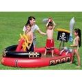 Piscina Para Niños Resitente Barco Piratas Bestway
