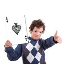 ¡ Juego De Cartas Poker Jumbo 18 X12cm Diviértete Grande !!