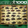 Jigsaw Puzzle - Tanques Segunda Guerra Mundial 1000 Eurograp