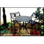 Muebles Para Exterior Mesa Y 2 Sillas Para Terraza ,jardin