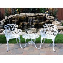 Muebles 2sillas Y Mesa Auxiliar Para Exterior Jardin Terraza