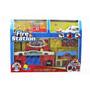 Juguete Fire Station Play Set Bomberos Carros Niños 46-75590