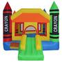 Crayola Castillo Inflable Saltarin Brinca Brinca Fiestas