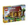 Lego Creator Cabaña De Madera 5766