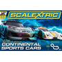 Pista De Carreras Scalextric Sports Cars Set (1:32 Scale)