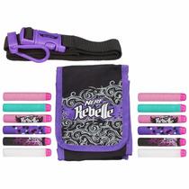 Hasbro - Nerf Rebelle Bolso, Cinturon Y 10 Dardos Para Niñas
