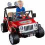 Jeep Wrangler De Fisher-price Power Wheels Rojo