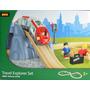 Set De Tren Explorer Metro Por Brio Minifiguras