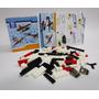 Armatodo Arma Todo Fichas Tipo Lego 92 Piezas Aviacion