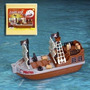 Barco Pirata - Juguete De Baño Y Piscina - Battery