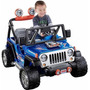 Jeep De Fisher-price Power Wheels Hot Wheels Wrangler