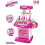 Cocina Maletin Didactico Para Princesas Niñas 46x29x66cm