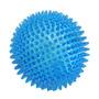¡ Juguete Tpr Bola Translúcida De Púas Para Mascota Azul !!