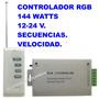 Controlador Rgb Led Control Remoto Rf Codificado Leds Cinta