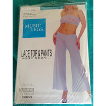 Sexy Teddy - Top Y Pantalones / Ropa Intima - Music Legs