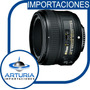 Nikon 50 Mm 1.8g Af-s Autofocus Para Todas Las Camaras