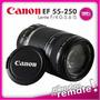Lente Canon Ef-s 55-250mm Stm F/4-5.6 Is T3i T4i T5i 70d