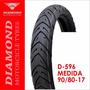Llanta Diamond D-596 90/80 - 17 Sellomática