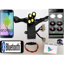 Estrober Bluetooth - Disp. Android - Carros - Motos