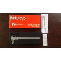 Calibrador Vernier Mitutoyo 8plg - 200mm 100% Original Nuevo