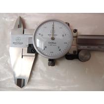 Calibrador Vernier De Dial Mitutoyo 505-633 Nuevo Original!!